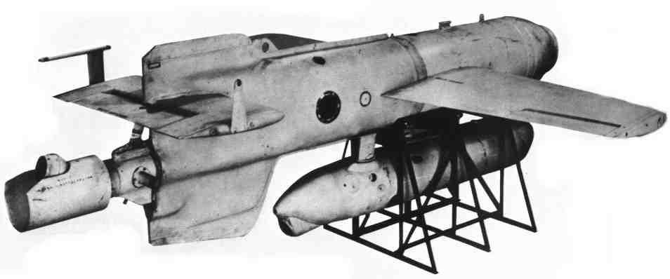 Les armes secrètes nazies Hs293b